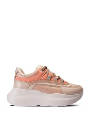 Deery Bej Rengi Sneaker Kadın Ayakkabı