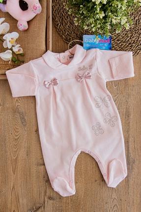 Babymod Pembe Tül Detaylı Kız Bebek Tulum