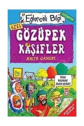 Timaş Yayınları Gözüpek Kaşifler - Anita Ganeri