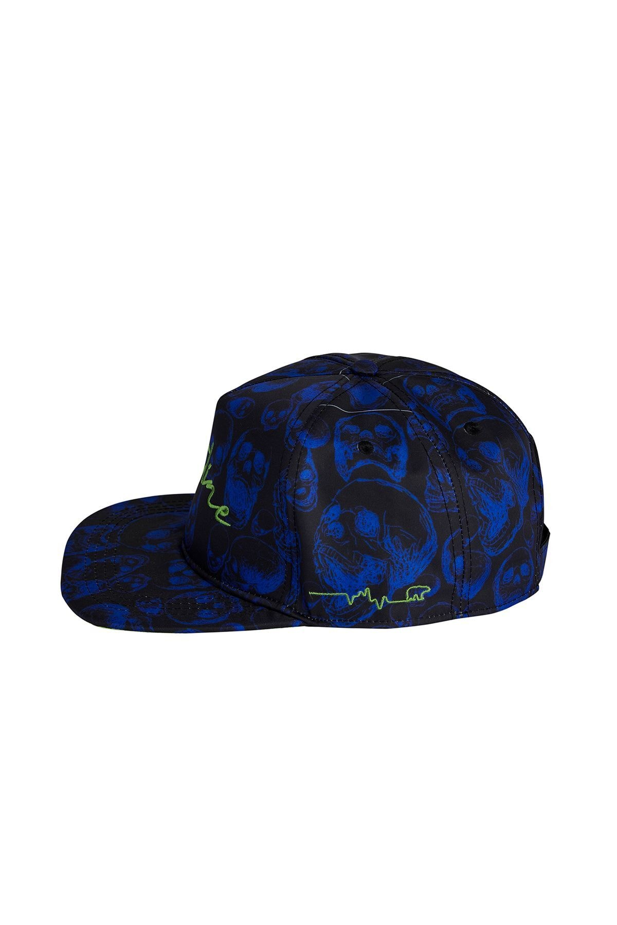 Bad Bear Erkek Şapka FLATLINE CAP BLUE 2