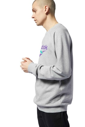Reebok CL V UNISEX CREW Gri Kadın Sweatshirt 100584435