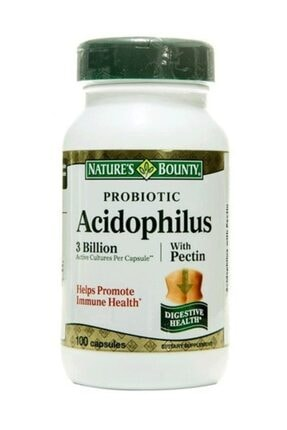 Nature's Bounty Nature's Bounty Probiotic Acidophilus With Pectin 100 Kapsül