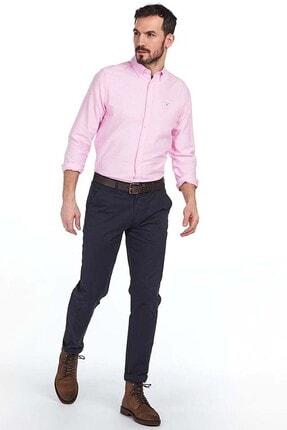 Barbour Erkek Pembe Oxford 3 Tailored Fit Shirt Gömlek