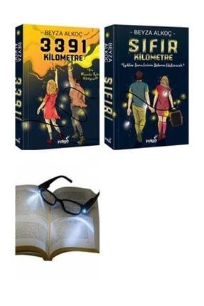 İndigo Yayınları Hediyeli Beyza Alkoç Sıfır Kilometre&3391 Kilometre 2 Li Set Artı Okuma Gözlüğü Hediye