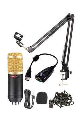 Lastvoice Bm800 Mikrofon + Stand + Dönüştürücü