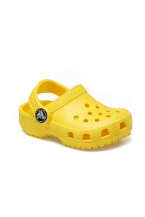 Crocs Kids Sarı Unisex Çocuk Terlik