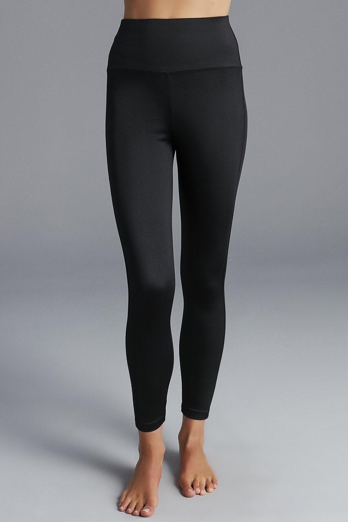 Penti Kadın Siyah Shiny Legging Tayt