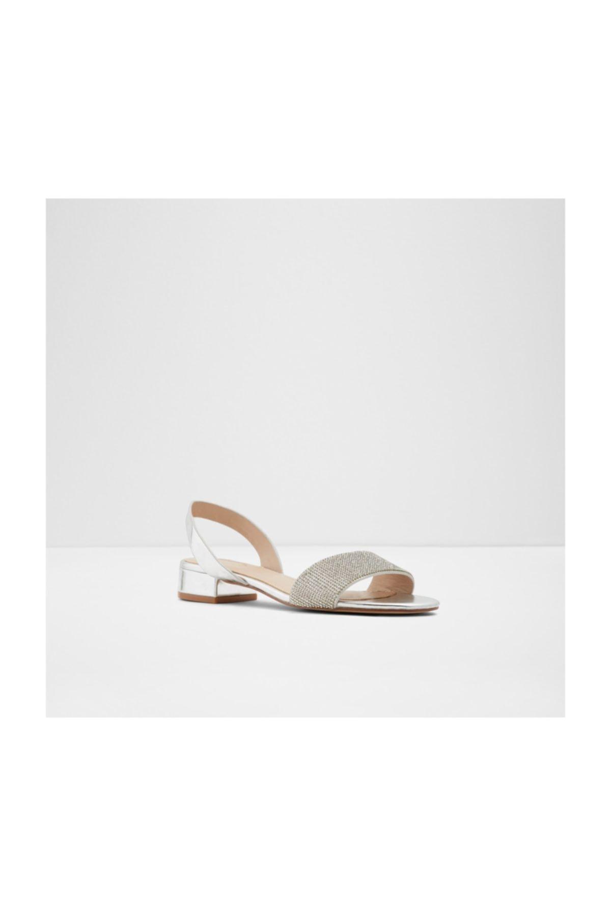 Aldo Kadın Gümüş Taşlı Sandalet 1