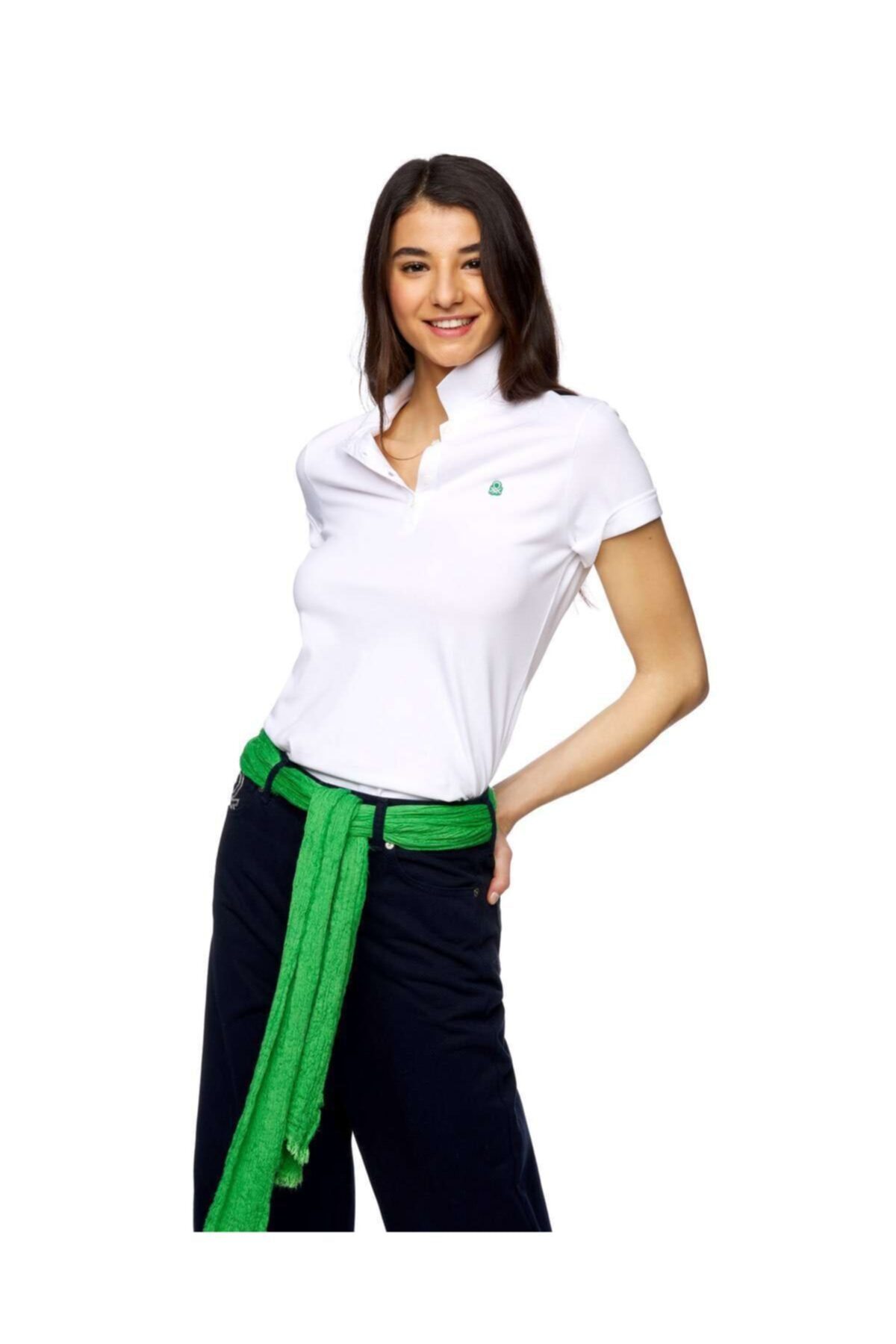 United Colors of Benetton Kısa Kollu Polo Tshirt 1