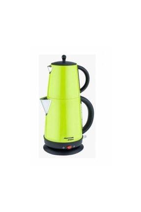 AWOX Demplus Açık Yeşil Renkli Çelik Çay Makinesi