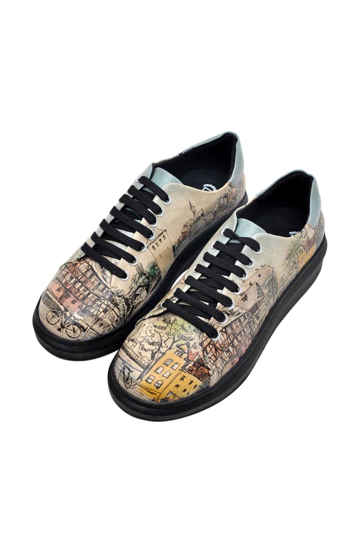 Dogo Multi Kadın Oxford Ayakkabı 1DGOW2020016 2