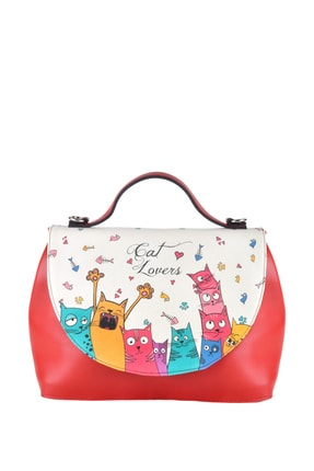 Dogo Cat Lovers Kadın El Çantası dgs018-hnd002