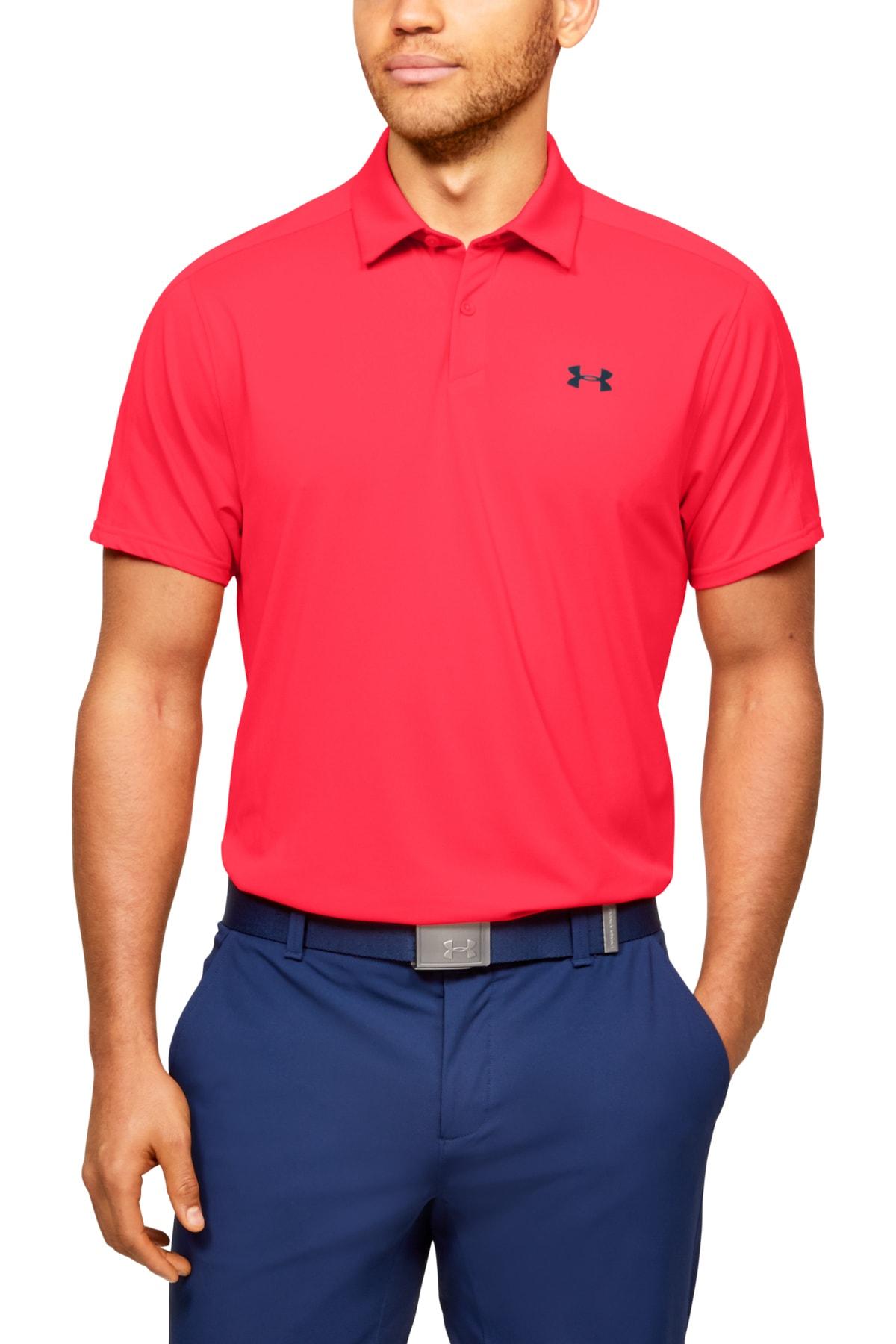 Under Armour Erkek Spor T-Shirt - UA Vanish Polo - 1350035-628 1