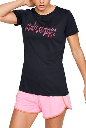 Under Armour Kadın Spor T-Shirt - Tech Script Graphic Ssc - 1351964-002