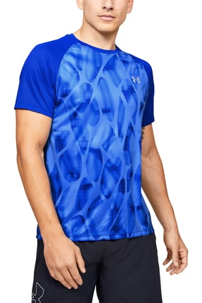 Under Armour Erkek Spor T-Shirt - M UA Qualifier iso - 1350133-464