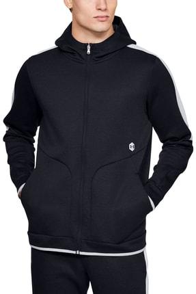 Under Armour Erkek Spor Sweatshirt - Athlete Recovery Fleece Full Zip - 1348407-002