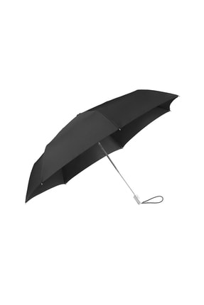 Samsonite Siyah Unisex Alu Drop - Otomatik Katlanabilir Şemsiye 34440