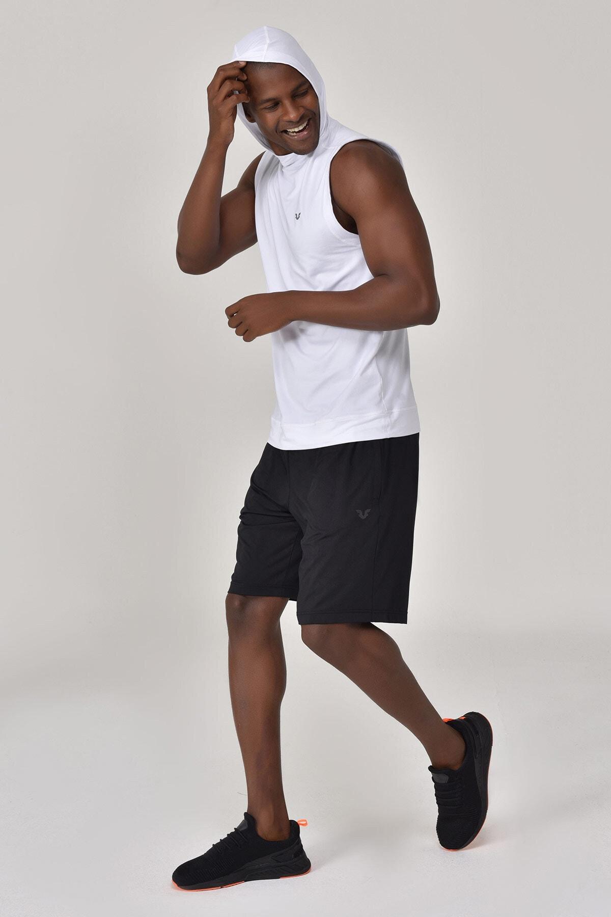 bilcee Beyaz Erkek Örme Atlet GS-1251 2