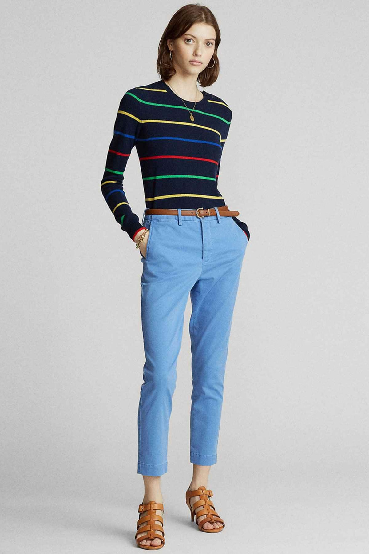 Polo Ralph Lauren Kadın Mavi Pantolon 4482832859188 1