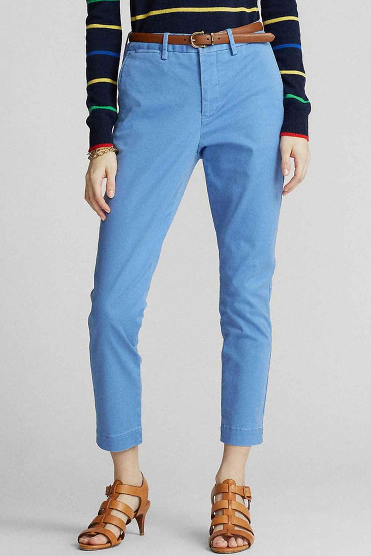 Polo Ralph Lauren Kadın Mavi Pantolon 4482832859188 2