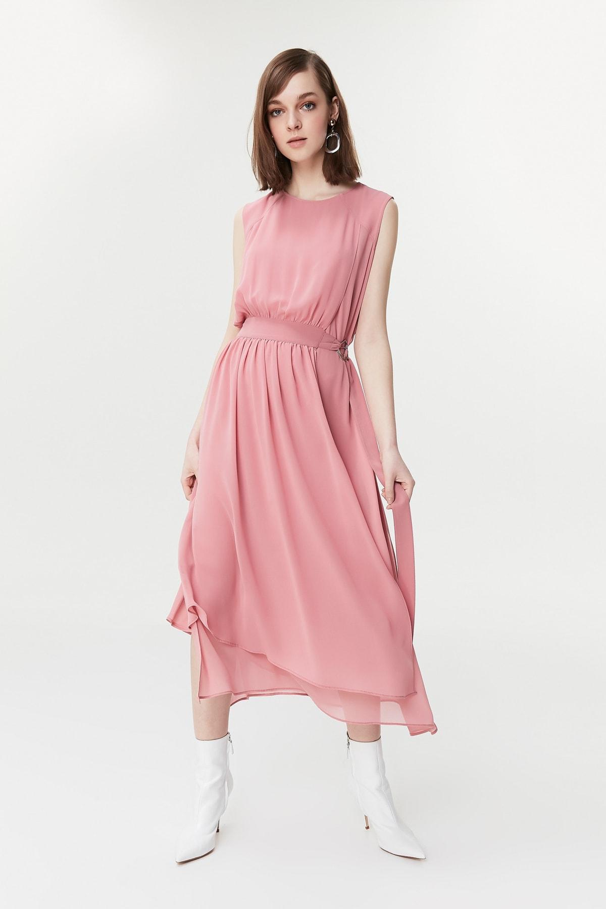 İpekyol Kadın Pudra Elbise IS1190002267 2