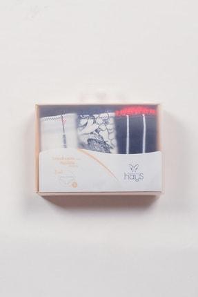 Hays Kadın Çok Renkli 3Lü Paket Klasik Slip Külot