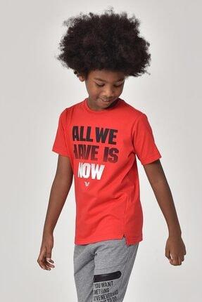 bilcee Kırmızı Erkek Çocuk T-Shirt GS-8146