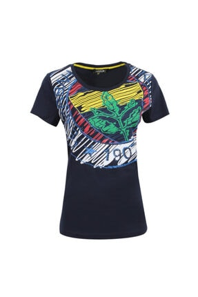 Fenerbahçe Kadın Trıbun Eskiz Logo Tshırt