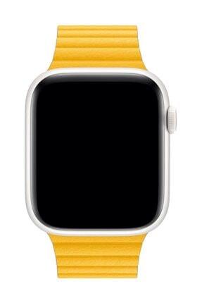 Melefoni Apple Watch Deri Loop Kordon 42 mm Kayış