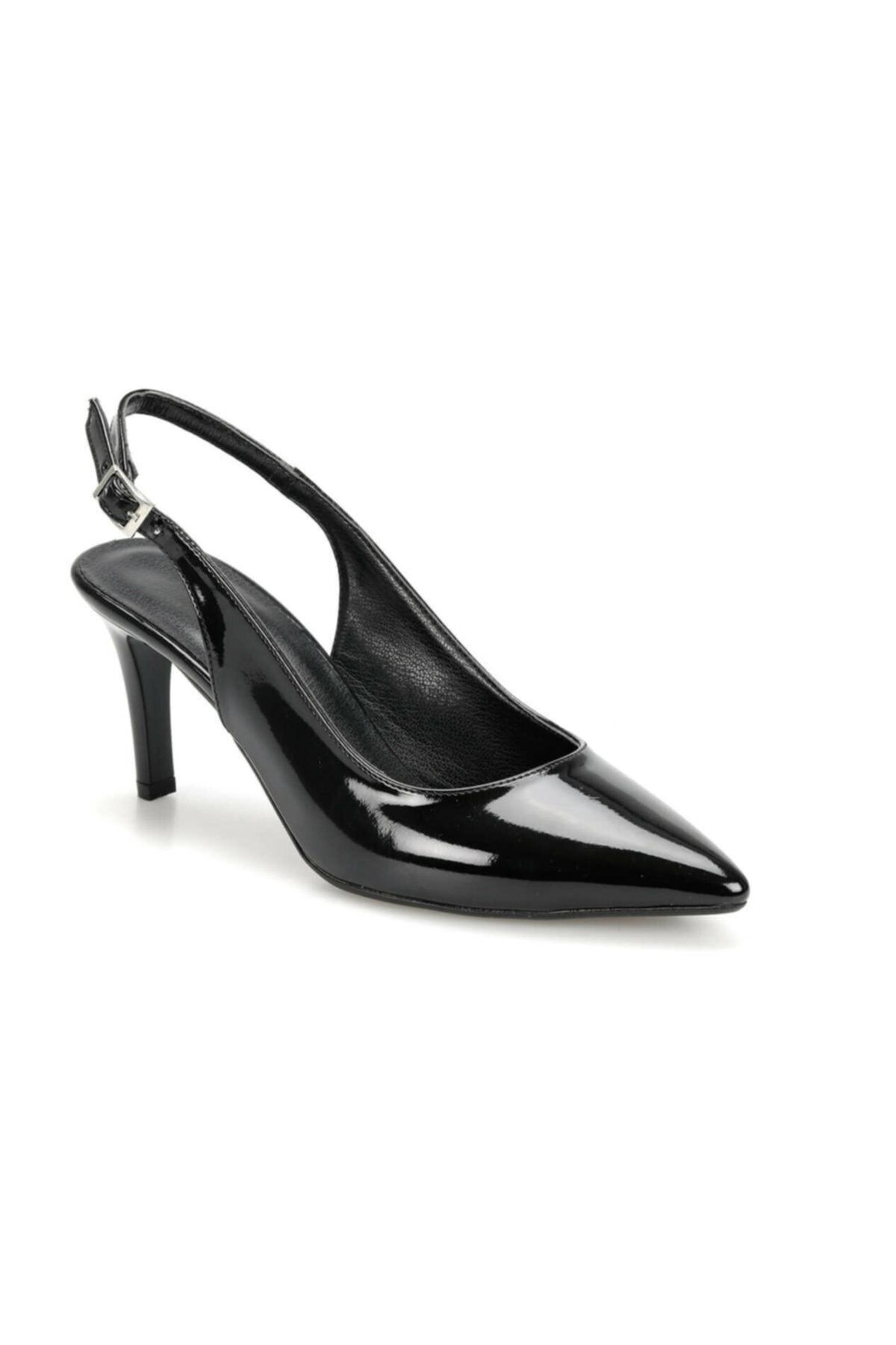 Miss F Ds19073r Siyah Kadın Topuklu Ayakkabı 100382854 1
