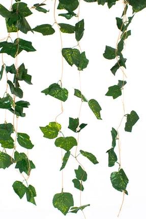 Çiçekmisin 5 Dal Sarmaşık Yaprak Yapay Bitki - Beşgen