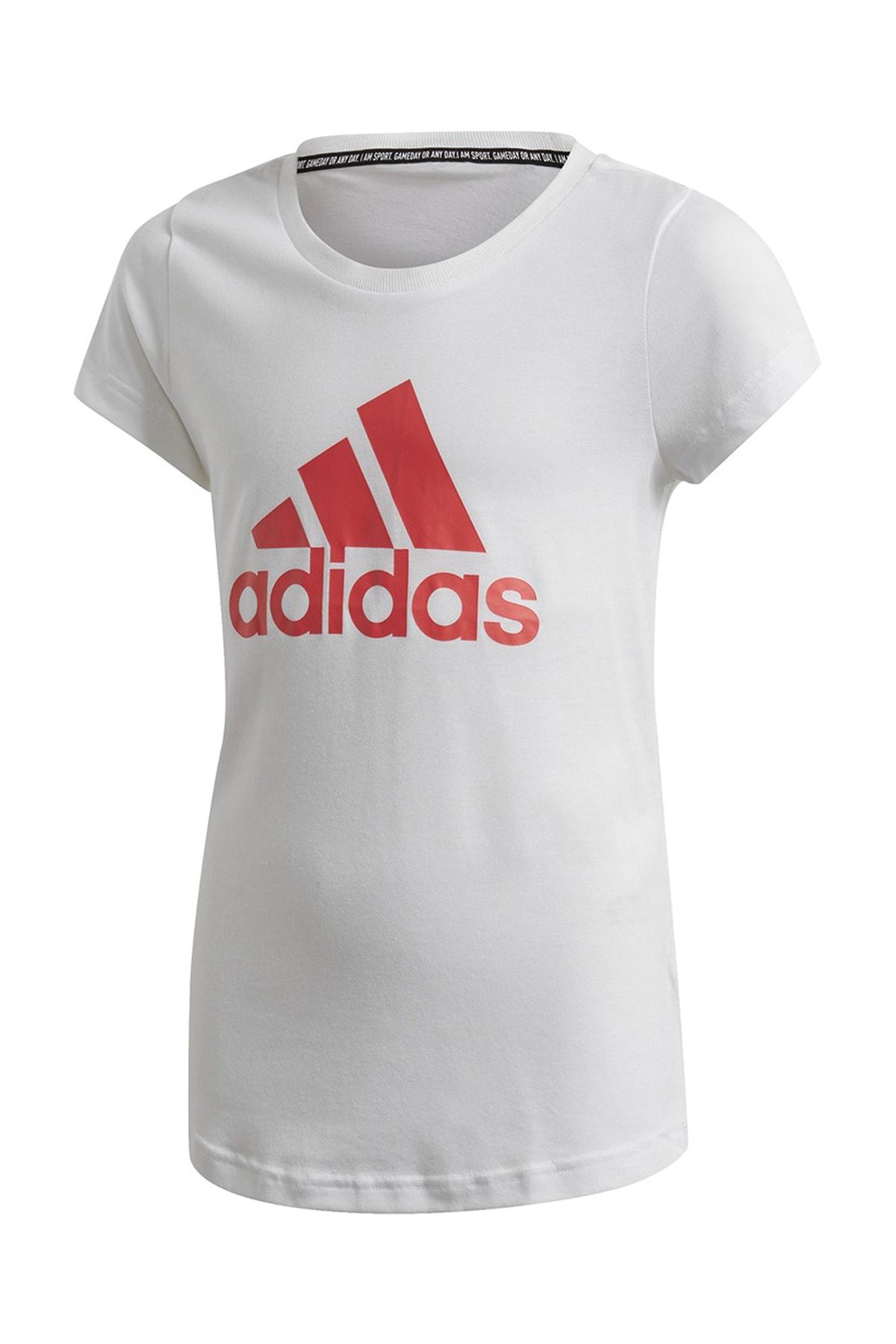adidas FM6509-C adidas Yg Mh Bos Tee Çocuk T-Shirt Beyaz