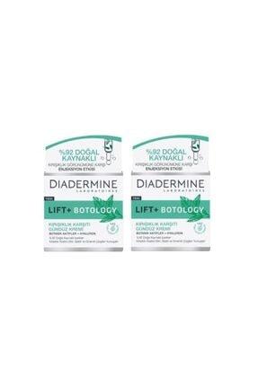 Diadermine Lift + Botology Kırışıklık Karşıtı 50 ml Gündüz Kremi 2 Adet