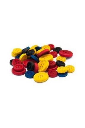 Ceren Kırtasiye Bu-Bu Düğmeler 1.2 ve 2.5 cm Karışık 40 Lı Paket (HS0007)