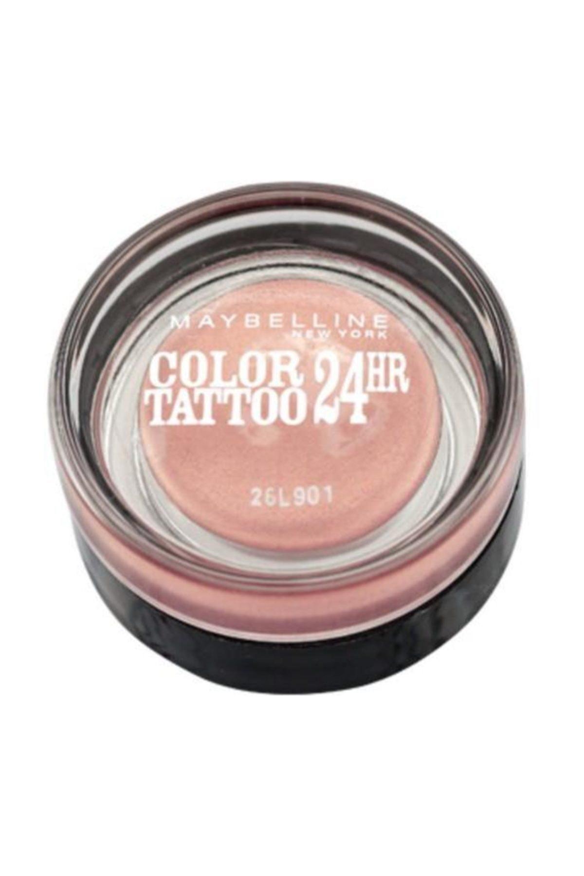 Maybelline New York Color Tattoo 24h Göz Farı - 65 Pink Gold - Metalik Pembe 1