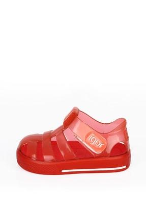 IGOR Erkek Çocuk Star Brillo Kırmızı Sandalet