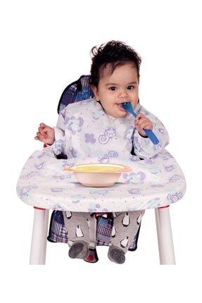Sevi Bebe Kollu Mama Sandalyesi Önlüğü (5 Adet) Art-264 /