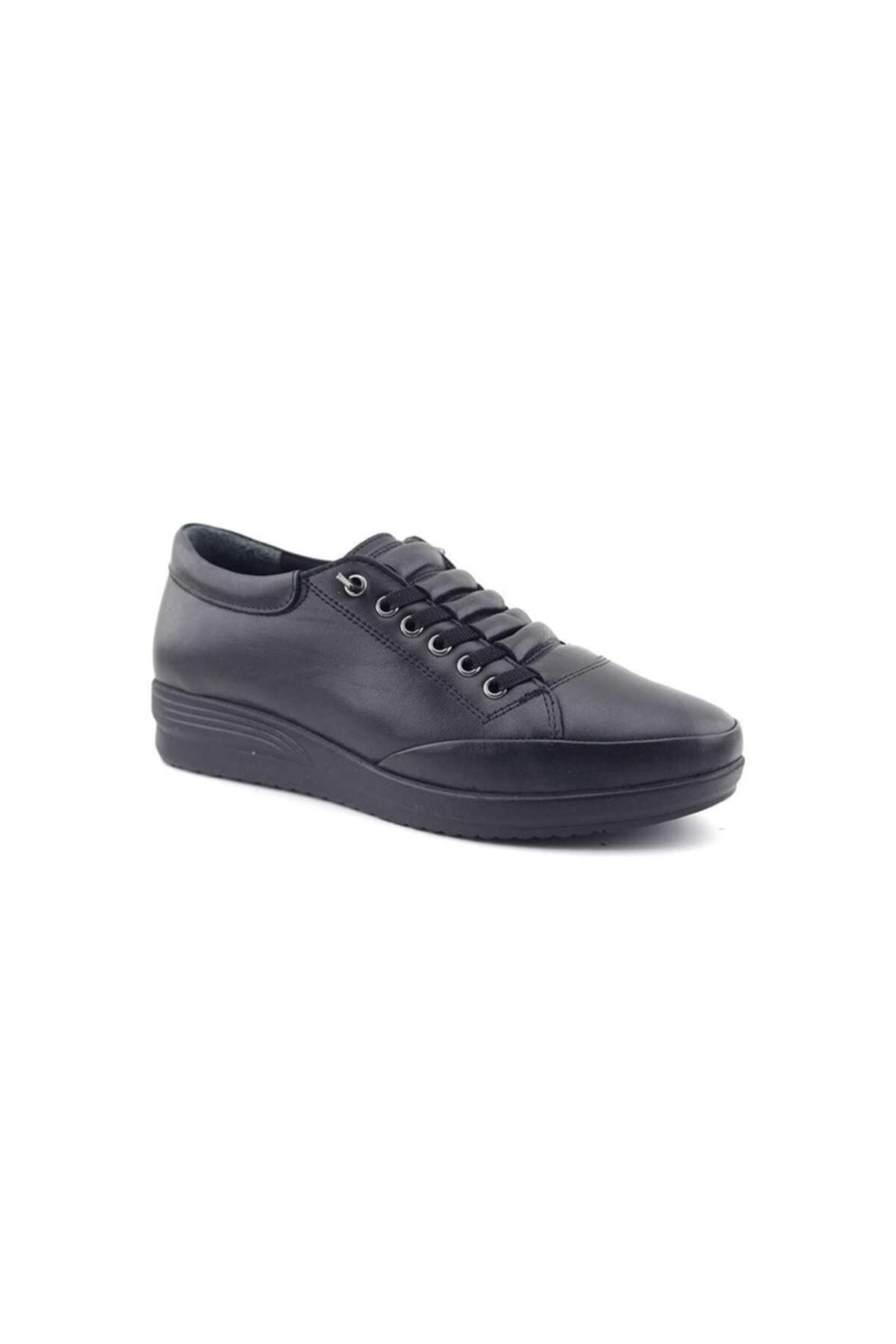 Kayra Kadın Siyah Günlük Ayakkabı 2