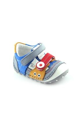 Akıllı Şirin Içi Dışı Hakiki Deri Tam Ortopedik El Işçiliği Ilk Adım Bebek Ayakkabı