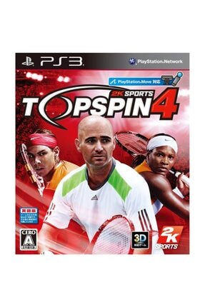 2K Games Top Spin 4 Move Uyumlu Ps3