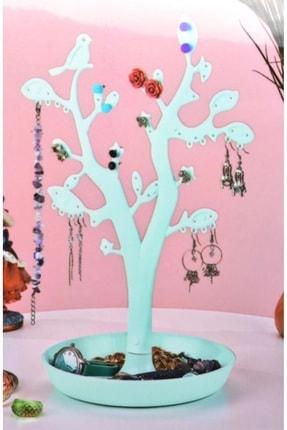 renn Takı ve Aksesuar Organizer Takı Ağacı-Turkuaz