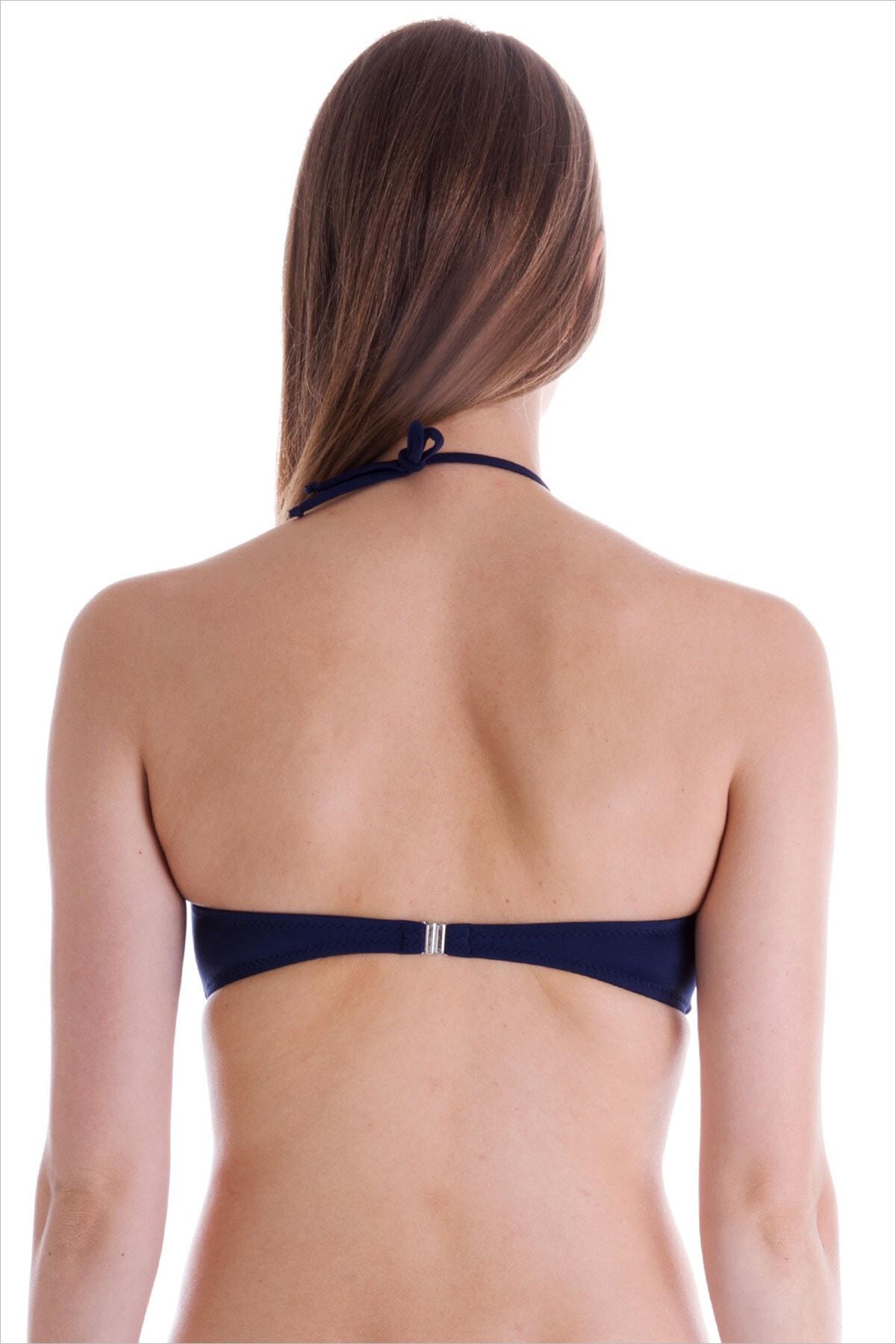 AYYILDIZ Kadın Lacivert Bikini Üstü 63541 2