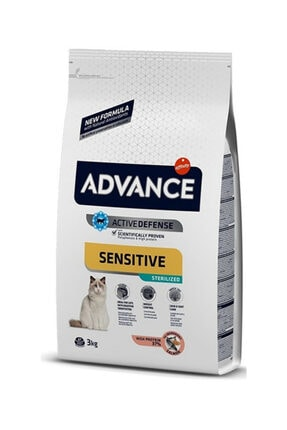 Advance Sterilised Kısırlaştırılmış Somonlu Kedi Maması 3 Kg