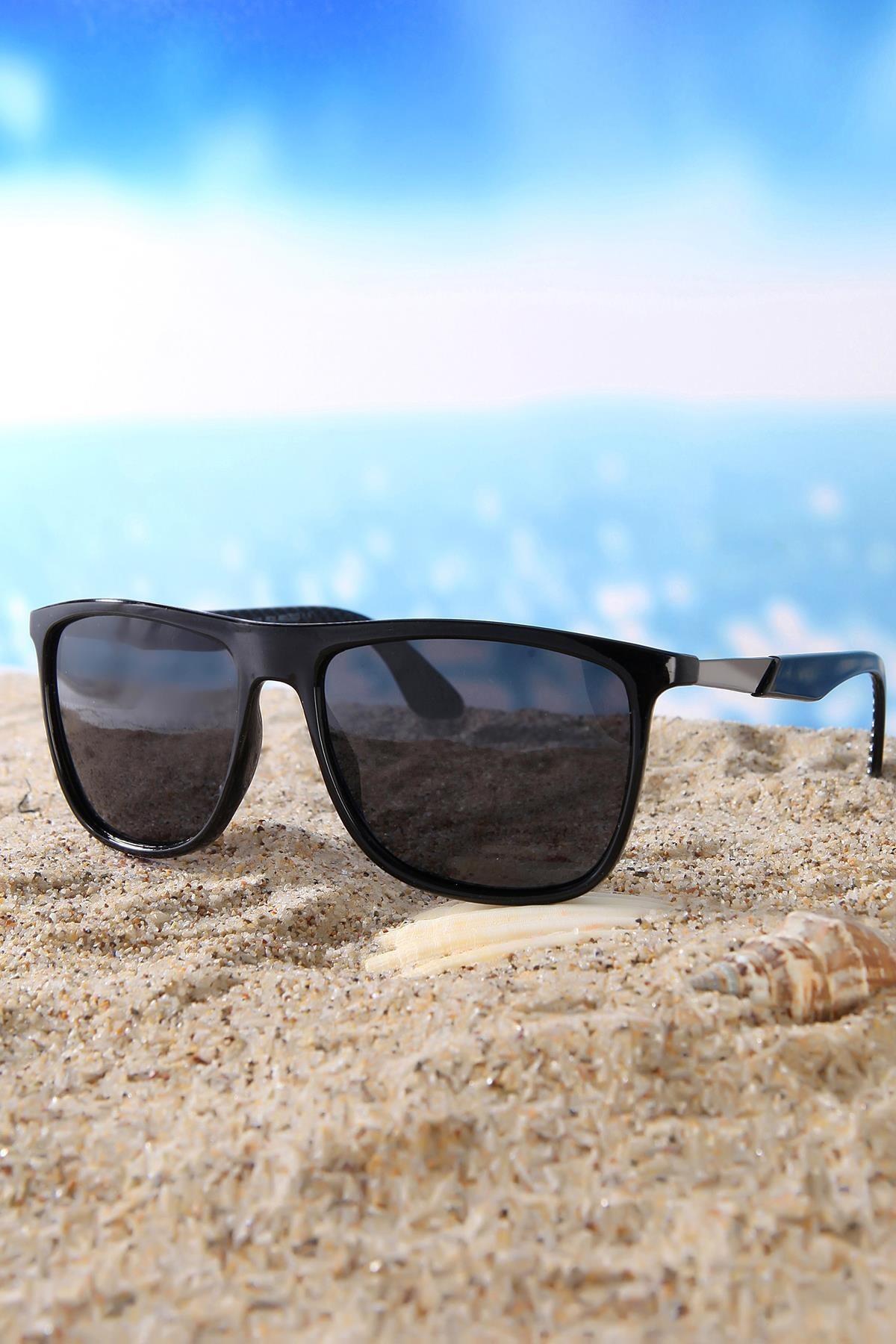 Di Caprio Erkek Dikdörtgen Di Caprio Polarize Güneş Gözlüğü DTX1084A 1