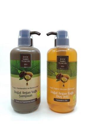 Eyüp Sabri Tuncer Doğal Argan Yağlı Şampuan Ve Duş Jeli Seti
