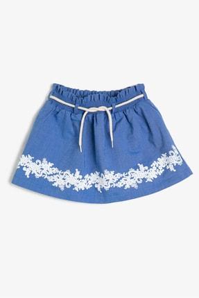 Koton Kids Mavi Kız Çocuk Etek