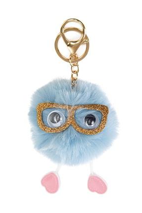 Mavi Kadın Ponpon Anahtarlık 197288-30762