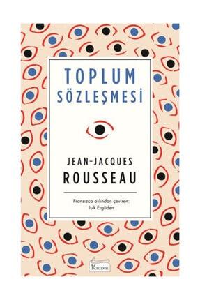 Koridor Yayıncılık Toplum Sözleşmesi (Ciltli) Jean-Jacques Rousseau,