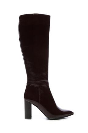 KEMAL TANCA Kadın Derı Çizme Çizme 94 12500 C BN CZM SK19/20