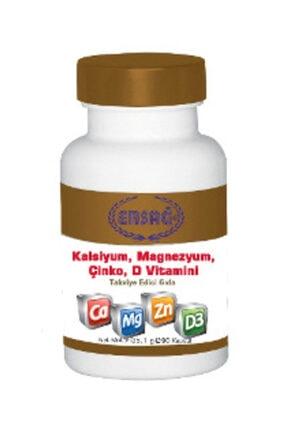 Ersağ Kalsiyum, Magnezyum, Çinko, D Vitamini Kapsülü